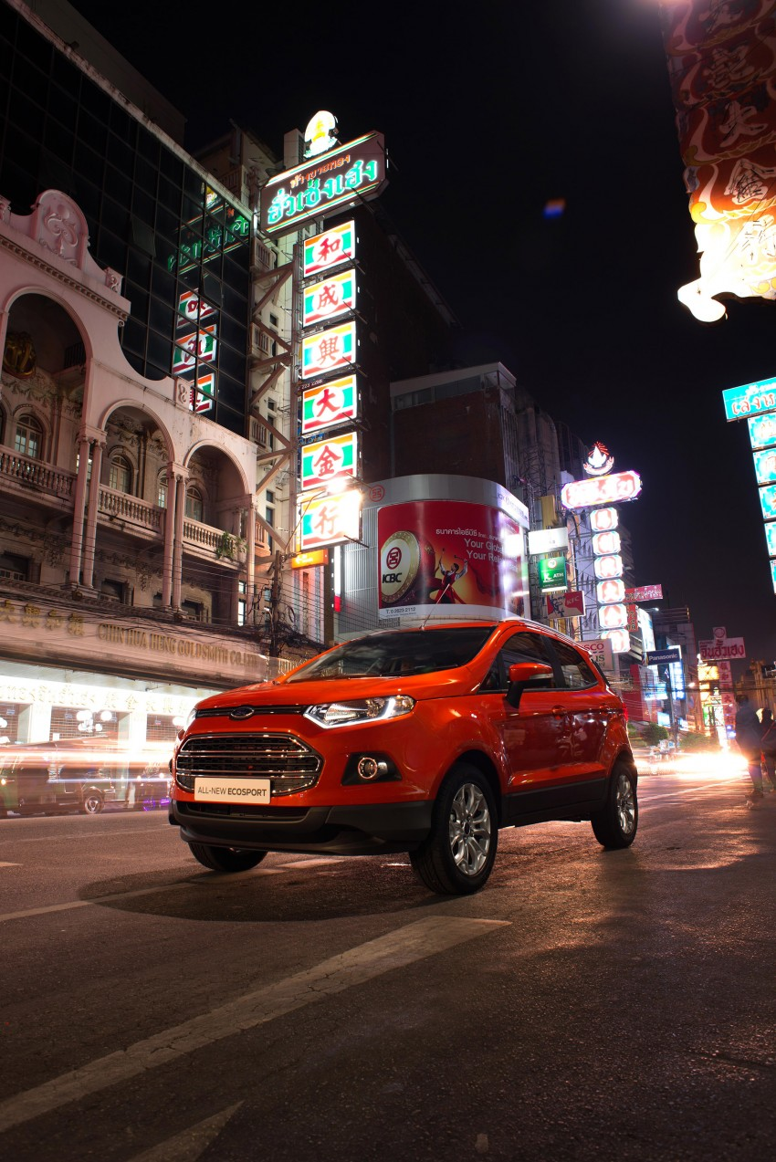 DRIVEN: Ford EcoSport 1.5 in Hua Hin, Thailand Image #245610