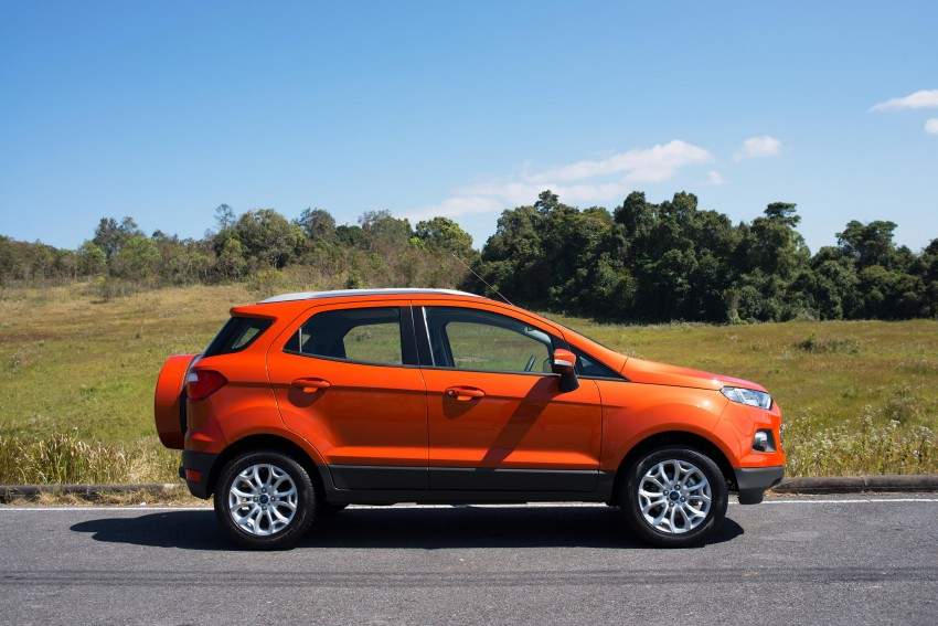 DRIVEN: Ford EcoSport 1.5 in Hua Hin, Thailand Image #245617