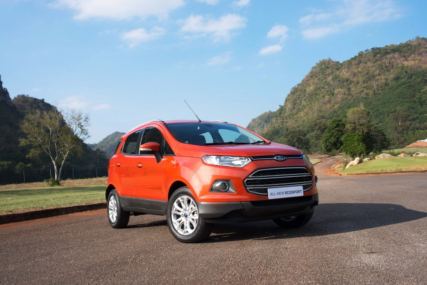 DRIVEN: Ford EcoSport 1.5 in Hua Hin, Thailand Image #245618