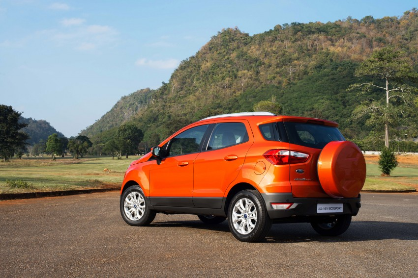 DRIVEN: Ford EcoSport 1.5 in Hua Hin, Thailand Image #245619