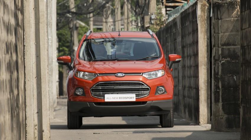 DRIVEN: Ford EcoSport 1.5 in Hua Hin, Thailand Image #245645