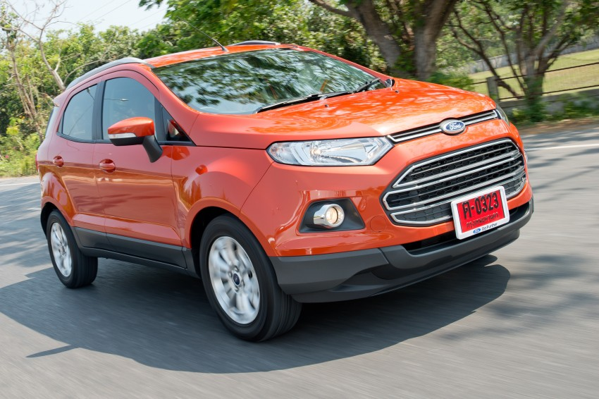 DRIVEN: Ford EcoSport 1.5 in Hua Hin, Thailand Image #245758