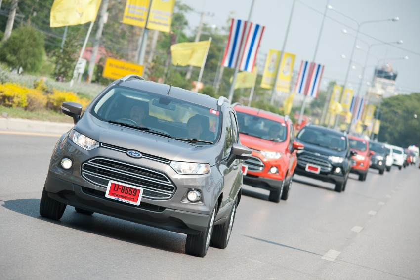 DRIVEN: Ford EcoSport 1.5 in Hua Hin, Thailand Image #245760