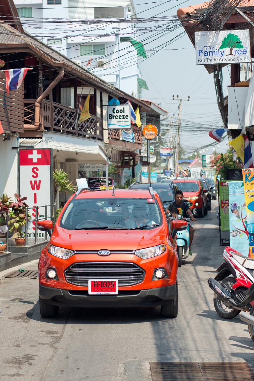 DRIVEN: Ford EcoSport 1.5 in Hua Hin, Thailand Image #245761