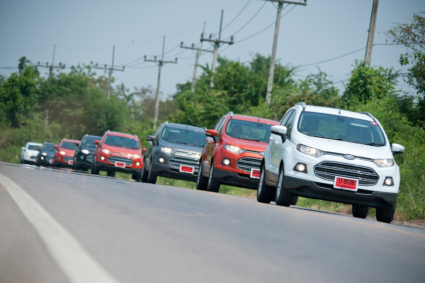 DRIVEN: Ford EcoSport 1.5 in Hua Hin, Thailand Image #245762