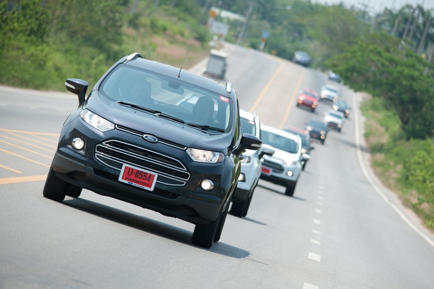 DRIVEN: Ford EcoSport 1.5 in Hua Hin, Thailand Image #245763