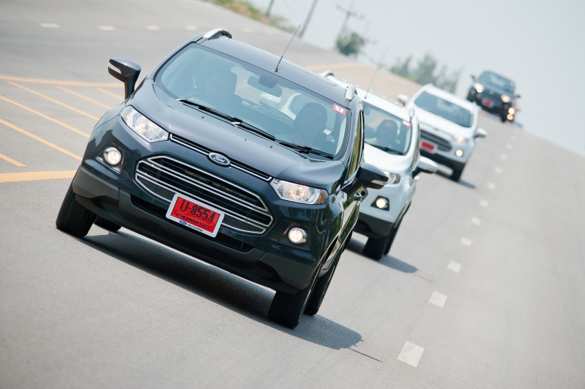 DRIVEN: Ford EcoSport 1.5 in Hua Hin, Thailand Image #245764