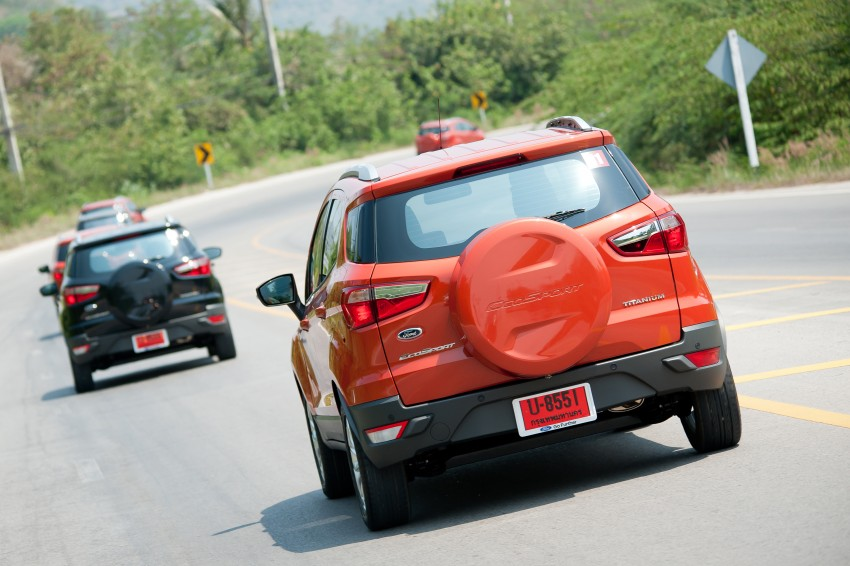 DRIVEN: Ford EcoSport 1.5 in Hua Hin, Thailand Image #245765