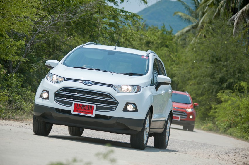 DRIVEN: Ford EcoSport 1.5 in Hua Hin, Thailand Image #245766