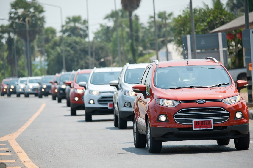 DRIVEN: Ford EcoSport 1.5 in Hua Hin, Thailand Image #245768