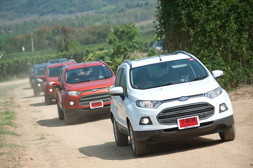 DRIVEN: Ford EcoSport 1.5 in Hua Hin, Thailand Image #245769
