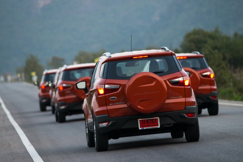 DRIVEN: Ford EcoSport 1.5 in Hua Hin, Thailand Image #245782