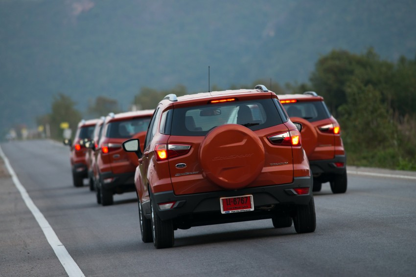 DRIVEN: Ford EcoSport 1.5 in Hua Hin, Thailand Image #245783
