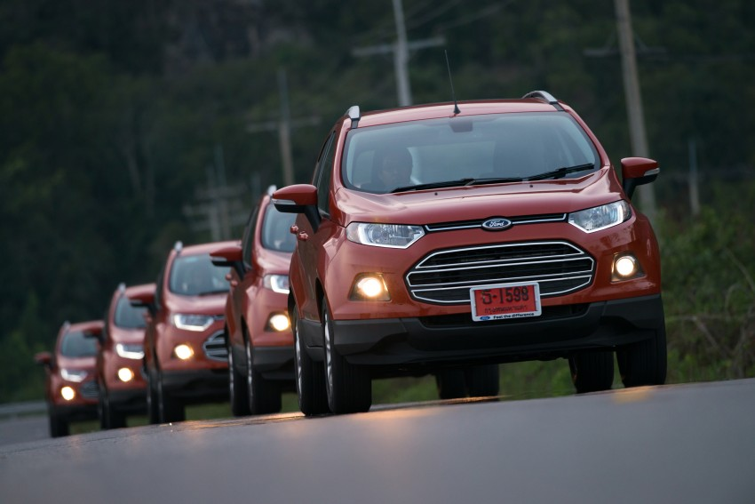 DRIVEN: Ford EcoSport 1.5 in Hua Hin, Thailand Image #245785