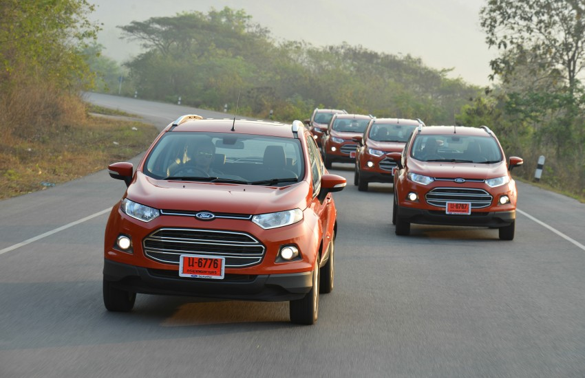DRIVEN: Ford EcoSport 1.5 in Hua Hin, Thailand Image #245787