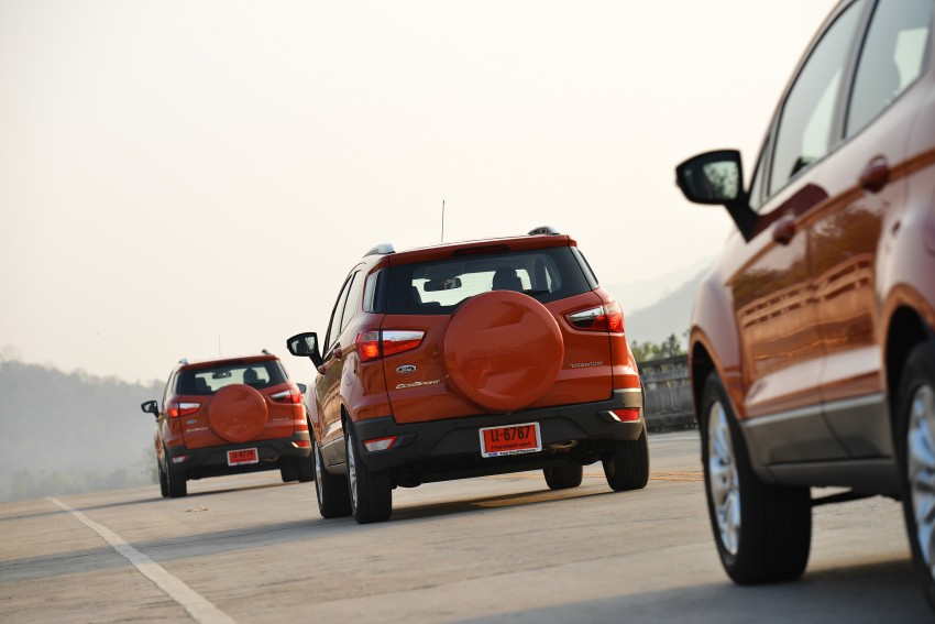 DRIVEN: Ford EcoSport 1.5 in Hua Hin, Thailand Image #245788