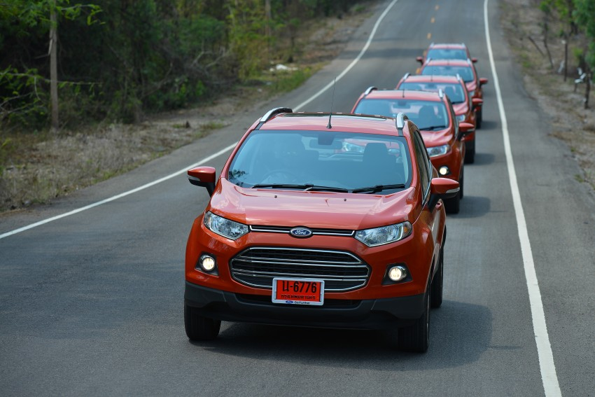 DRIVEN: Ford EcoSport 1.5 in Hua Hin, Thailand Image #245789