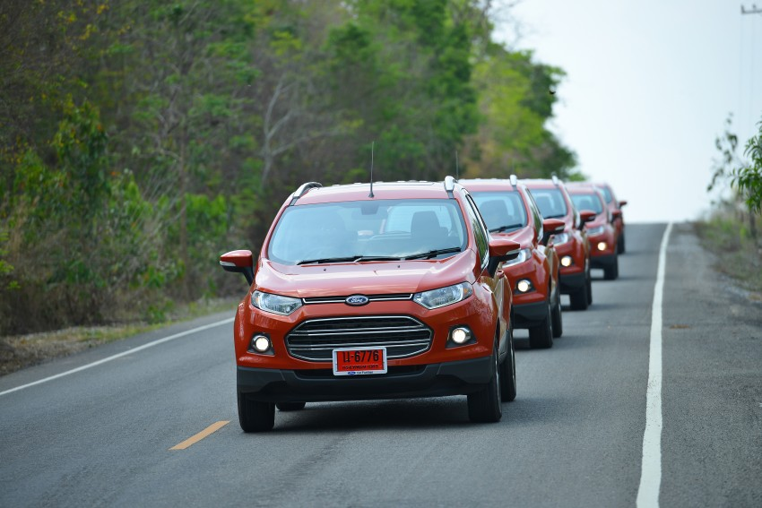DRIVEN: Ford EcoSport 1.5 in Hua Hin, Thailand Image #245791