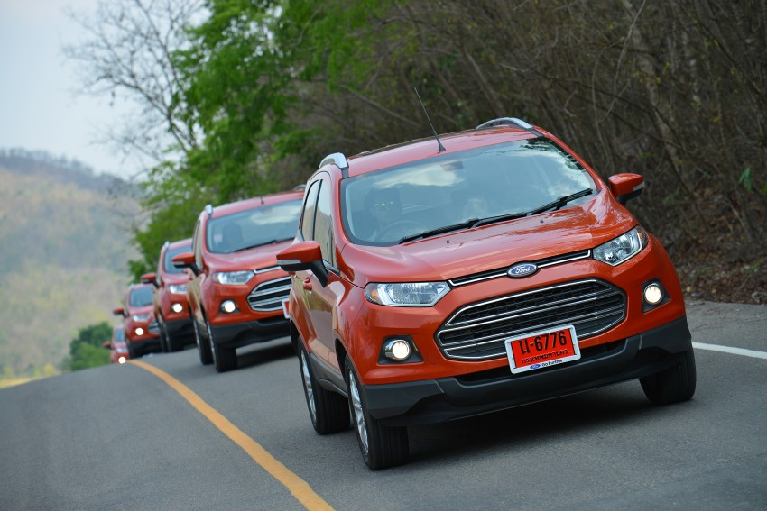 DRIVEN: Ford EcoSport 1.5 in Hua Hin, Thailand Image #245792