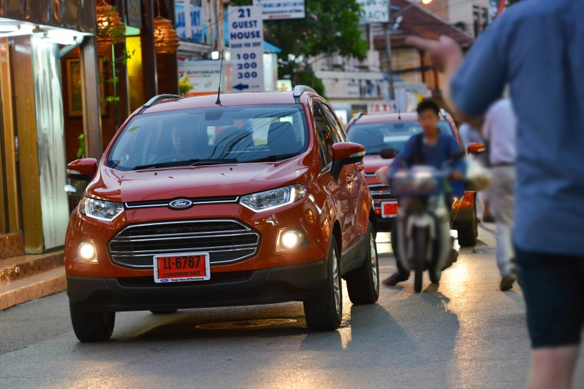 DRIVEN: Ford EcoSport 1.5 in Hua Hin, Thailand Image #245794