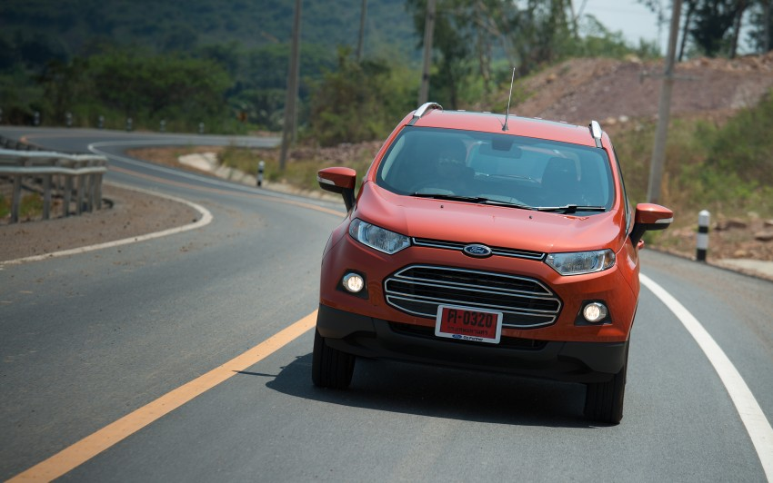 DRIVEN: Ford EcoSport 1.5 in Hua Hin, Thailand Image #245796