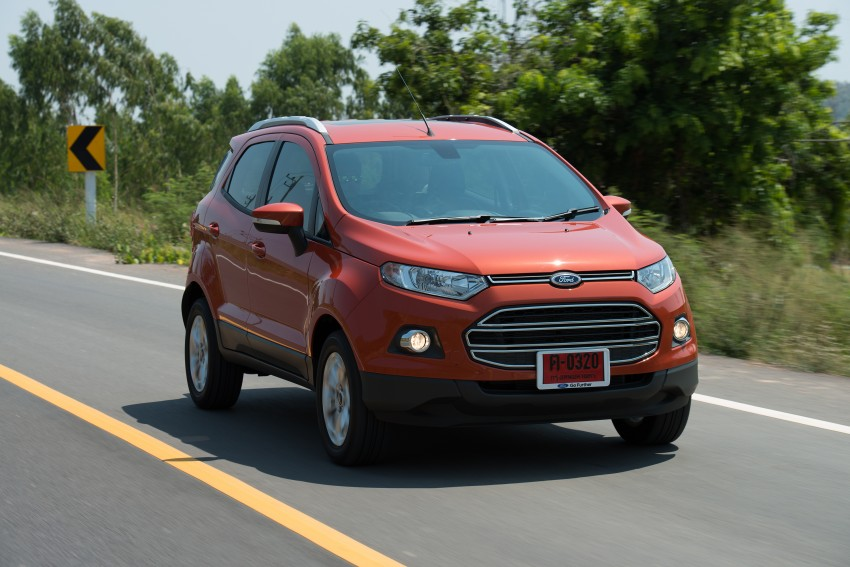DRIVEN: Ford EcoSport 1.5 in Hua Hin, Thailand Image #245797