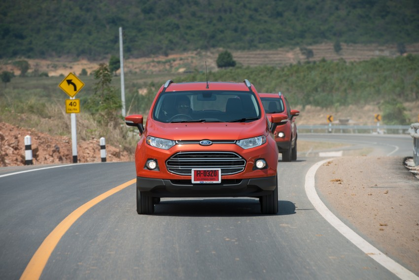 DRIVEN: Ford EcoSport 1.5 in Hua Hin, Thailand Image #245798