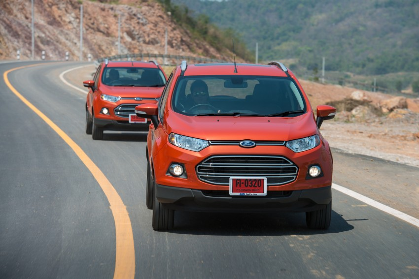 DRIVEN: Ford EcoSport 1.5 in Hua Hin, Thailand Image #245799
