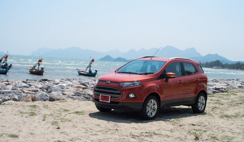 DRIVEN: Ford EcoSport 1.5 in Hua Hin, Thailand Image #245800
