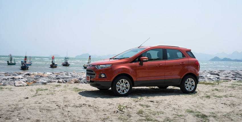 DRIVEN: Ford EcoSport 1.5 in Hua Hin, Thailand Image #245801
