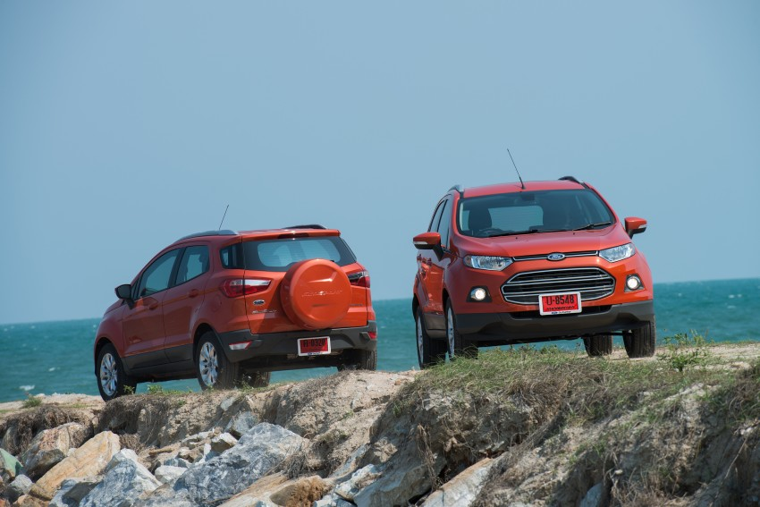 DRIVEN: Ford EcoSport 1.5 in Hua Hin, Thailand Image #245804