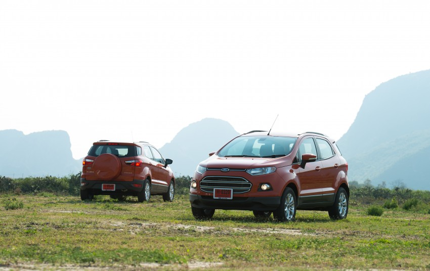 DRIVEN: Ford EcoSport 1.5 in Hua Hin, Thailand Image #245806
