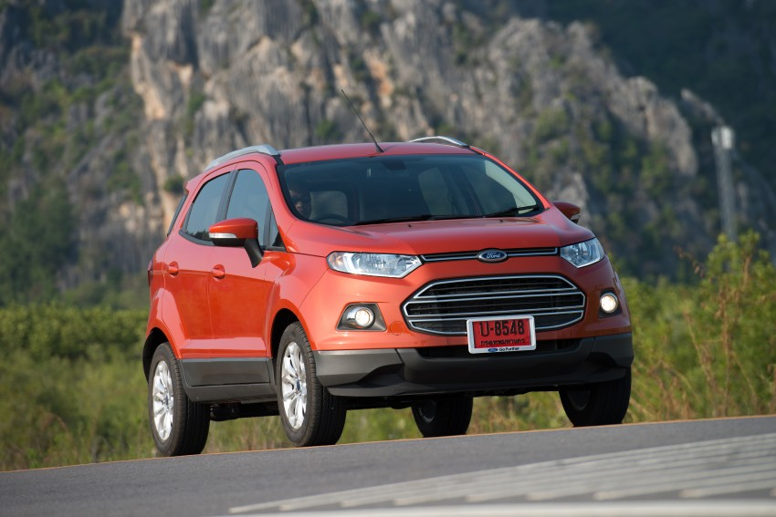 DRIVEN: Ford EcoSport 1.5 in Hua Hin, Thailand Image #245807