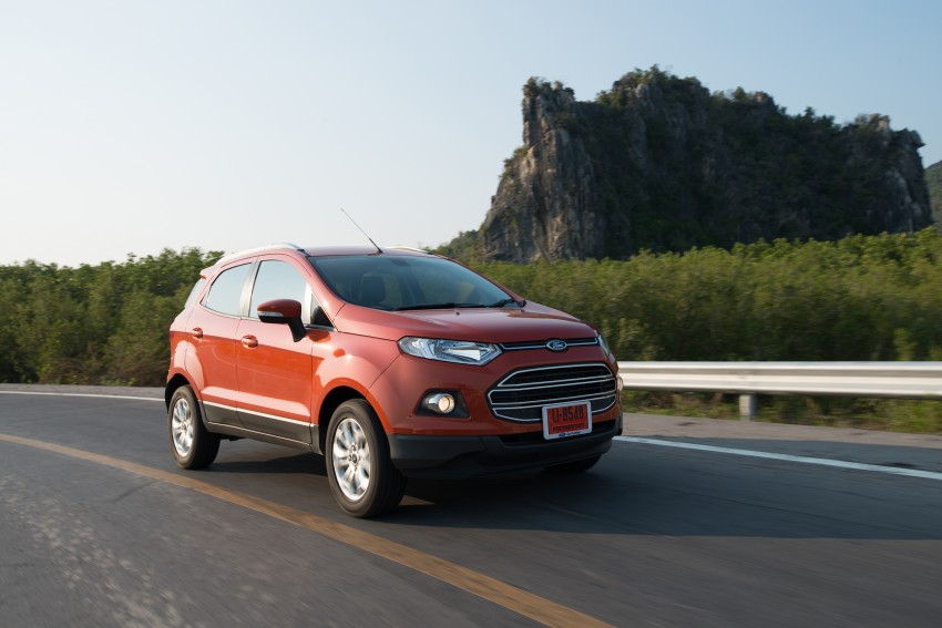 DRIVEN: Ford EcoSport 1.5 in Hua Hin, Thailand Image #245809