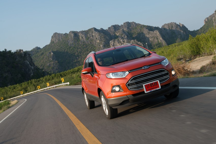 DRIVEN: Ford EcoSport 1.5 in Hua Hin, Thailand Image #245810