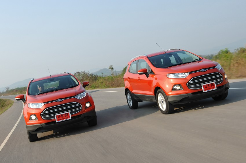 DRIVEN: Ford EcoSport 1.5 in Hua Hin, Thailand Image #245772