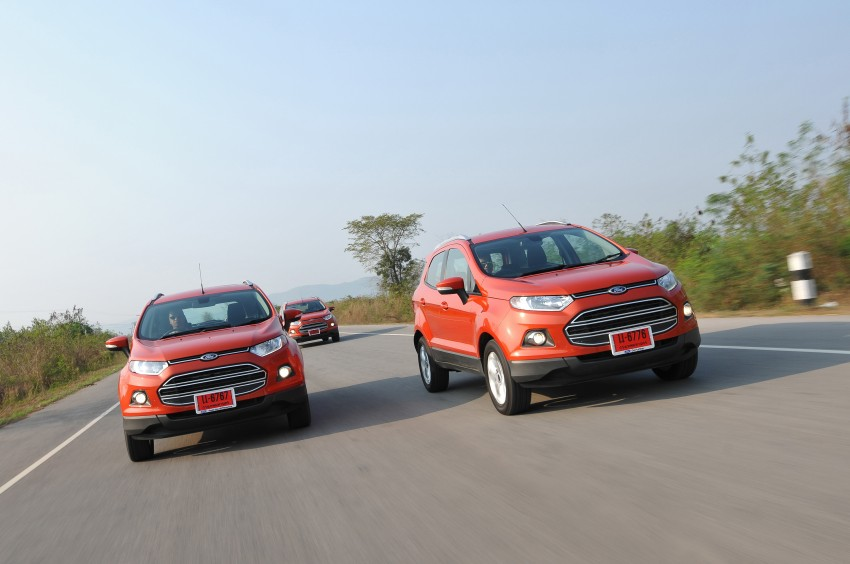 DRIVEN: Ford EcoSport 1.5 in Hua Hin, Thailand Image #245773
