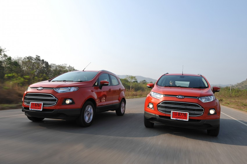 DRIVEN: Ford EcoSport 1.5 in Hua Hin, Thailand Image #245774