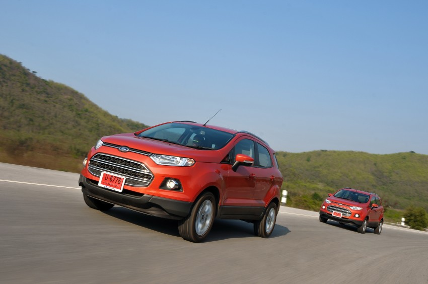 DRIVEN: Ford EcoSport 1.5 in Hua Hin, Thailand Image #245775
