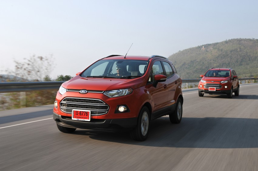 DRIVEN: Ford EcoSport 1.5 in Hua Hin, Thailand Image #245776