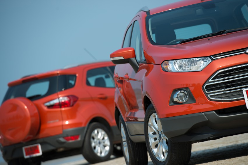 DRIVEN: Ford EcoSport 1.5 in Hua Hin, Thailand Image #245777
