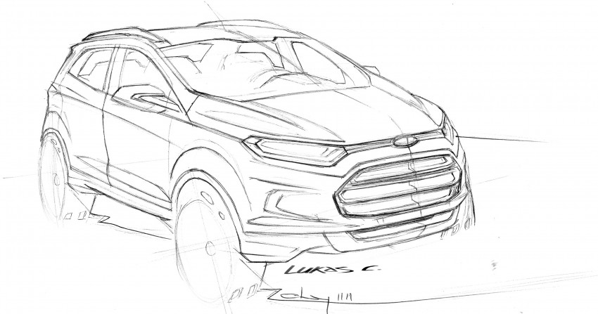 DRIVEN: Ford EcoSport 1.5 in Hua Hin, Thailand Image #245652