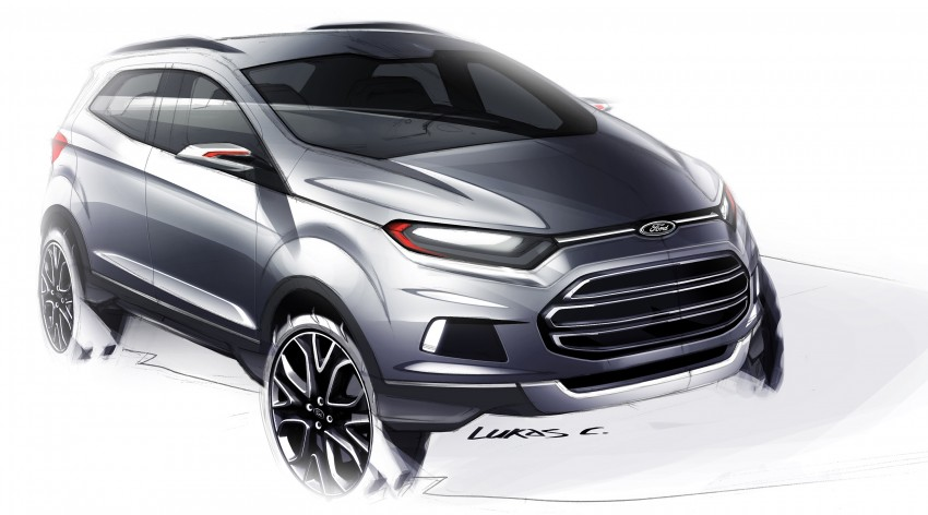 DRIVEN: Ford EcoSport 1.5 in Hua Hin, Thailand Image #245654