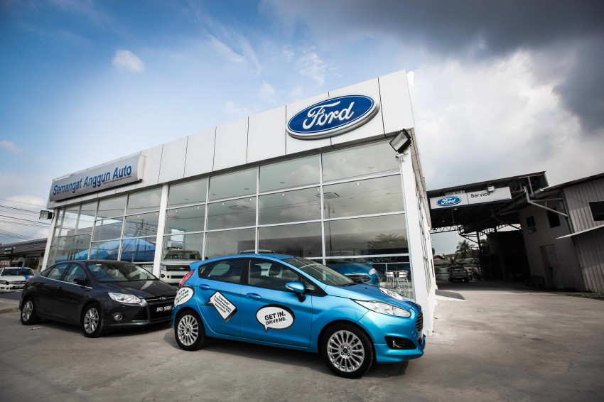 Ford opens 3S centre in Klang, 50 outlets by year end Image #246798