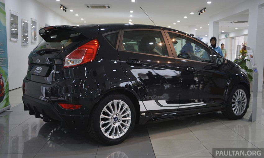 Ford Fiesta 1.0 EcoBoost launched – RM93,888 Image #245507