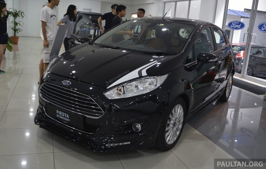 Ford Fiesta 1.0 EcoBoost launched – RM93,888 Image #245525