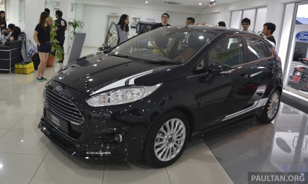 ford fiesta 1 0 ecoboost launched in malaysia rm93 888. Black Bedroom Furniture Sets. Home Design Ideas