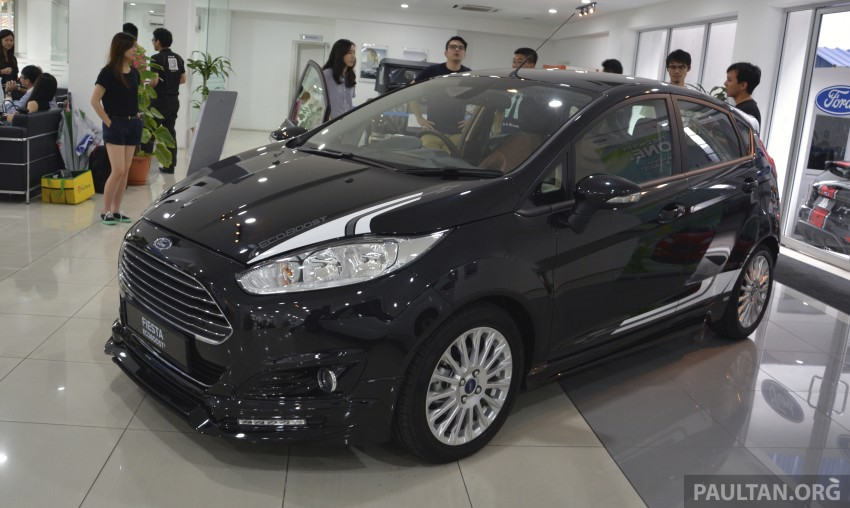 Ford Fiesta 1.0 EcoBoost launched – RM93,888 Image #245528