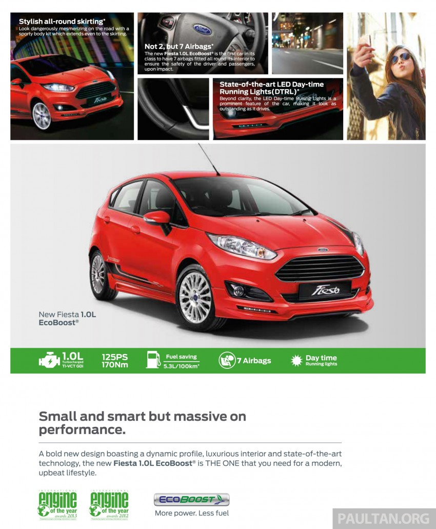 Ford Fiesta 1.0 EcoBoost launched – RM93,888 Image #245496