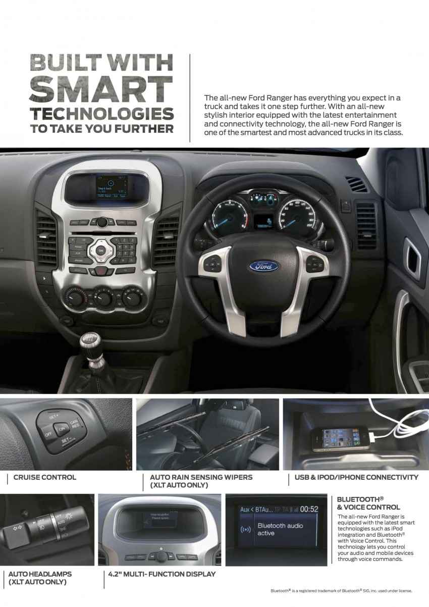 Ford Ranger updated – ESP, 3-point belts and ISOFIX Image #250688